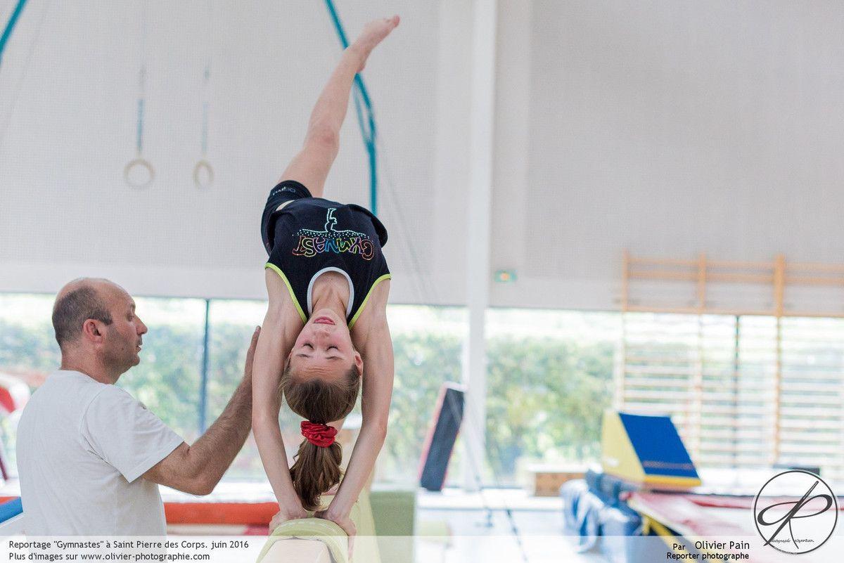 Reportage : Gymnastes à Saint Pierre des Corps