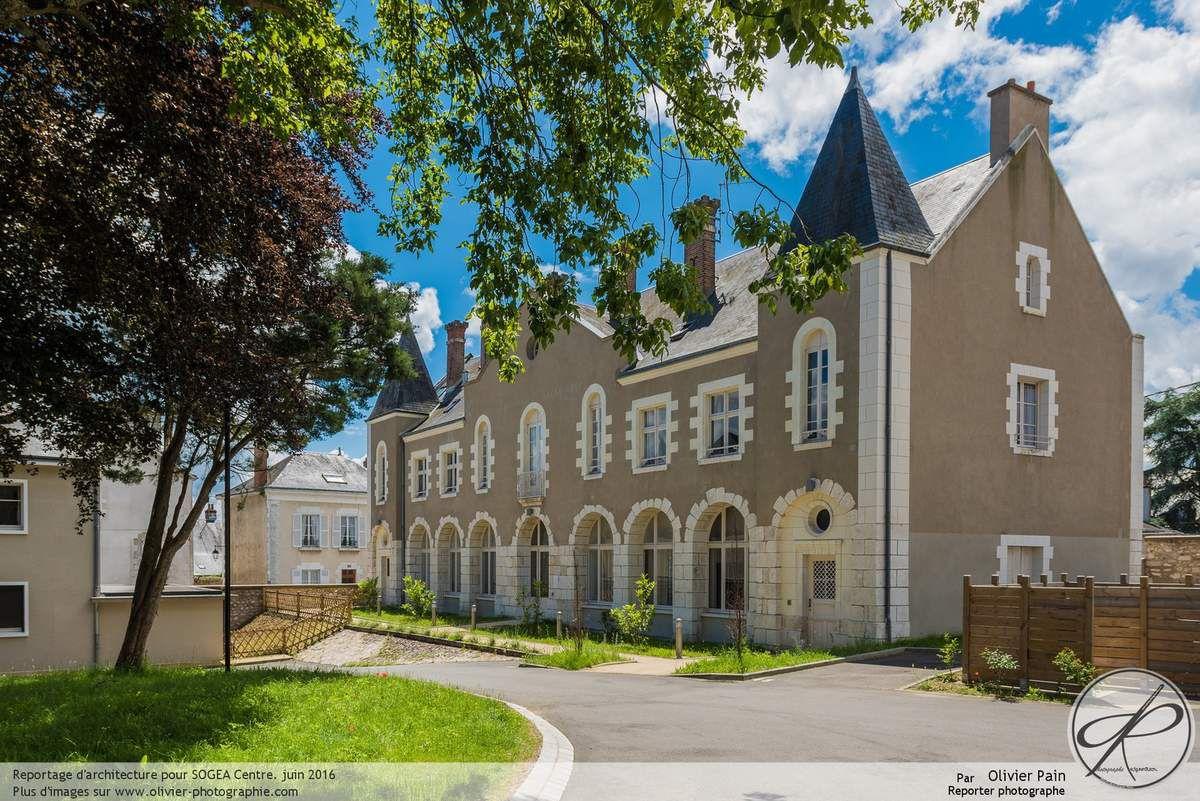 Photographies d'architecture à Blois pour SOGEA Centre à Blois.