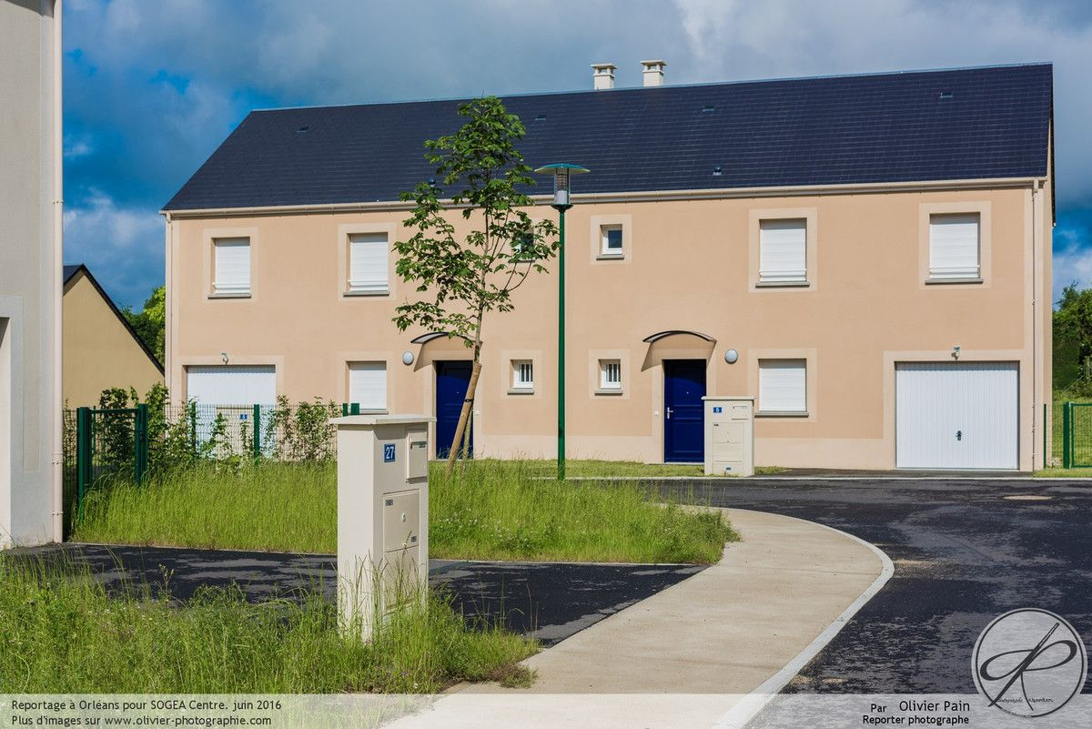 Photographies d'architecture pour SOGEA Centre à Orléans