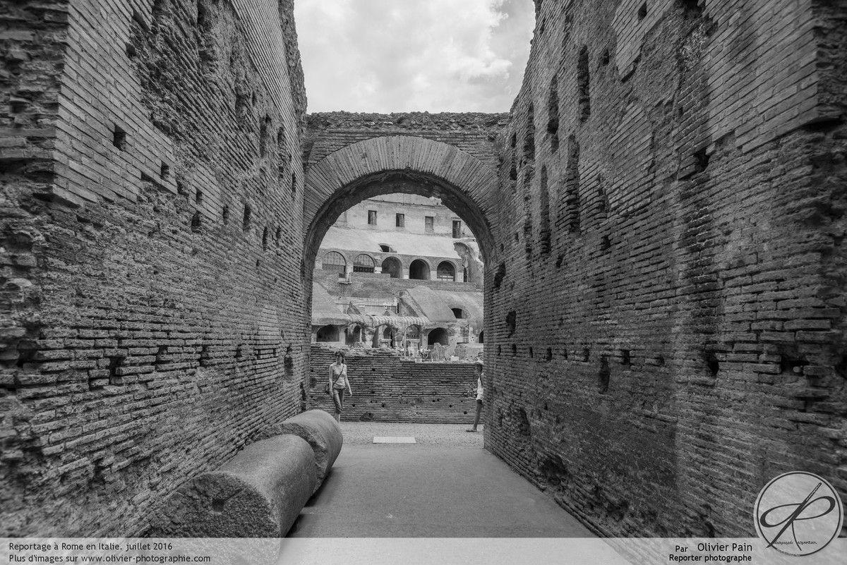 Reportage, architecture à Rome en Italie, Le Colisée