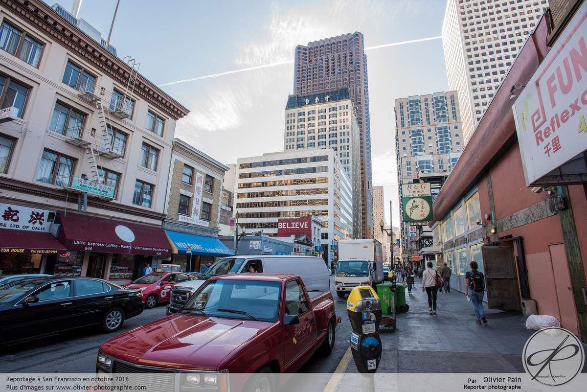 Photoreportage au états unis : Reportage à San Francisco, le quartier chinois