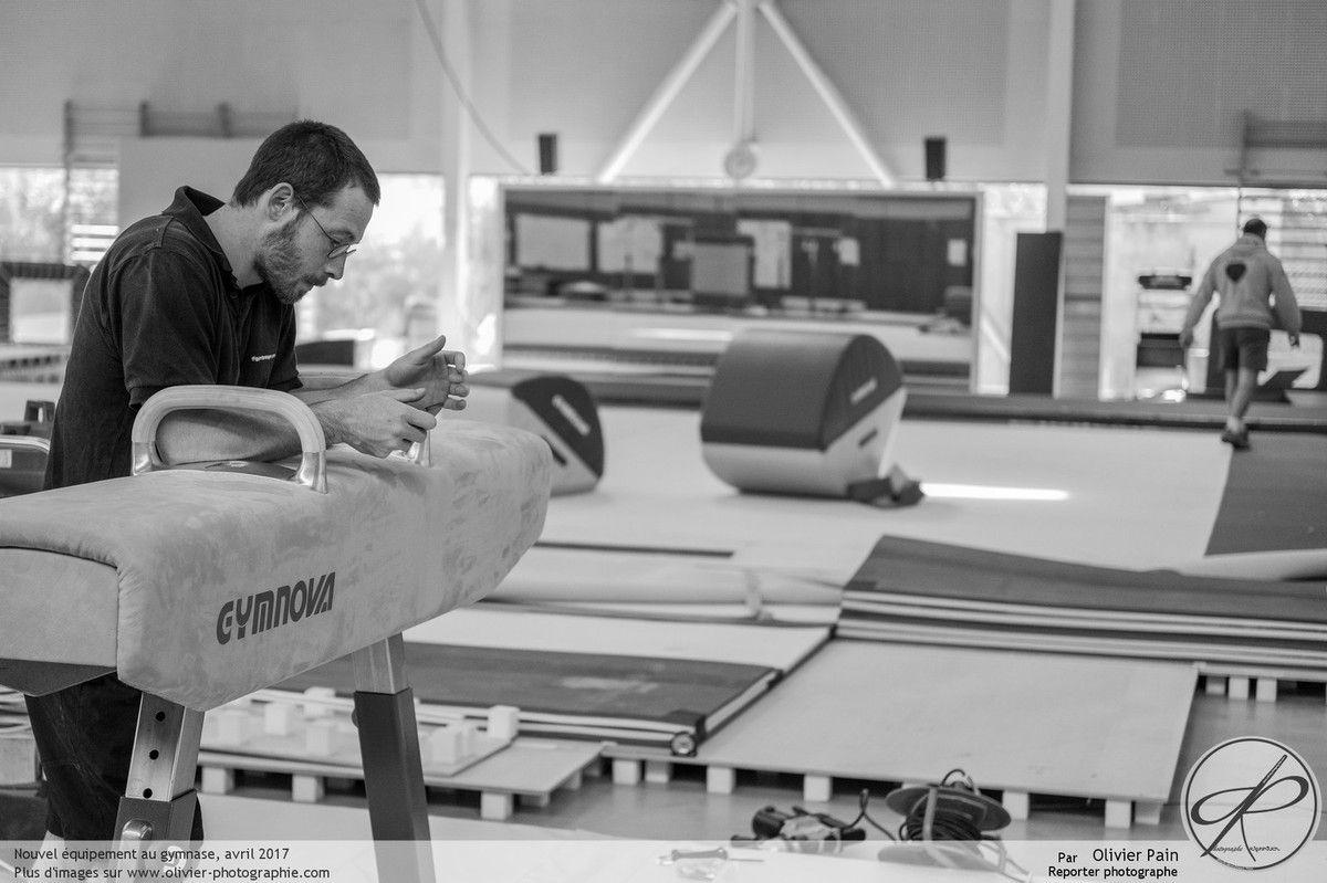 Reportage Gymnastes : Quand le gymnase reçoit son nouveau matériel Gymnova