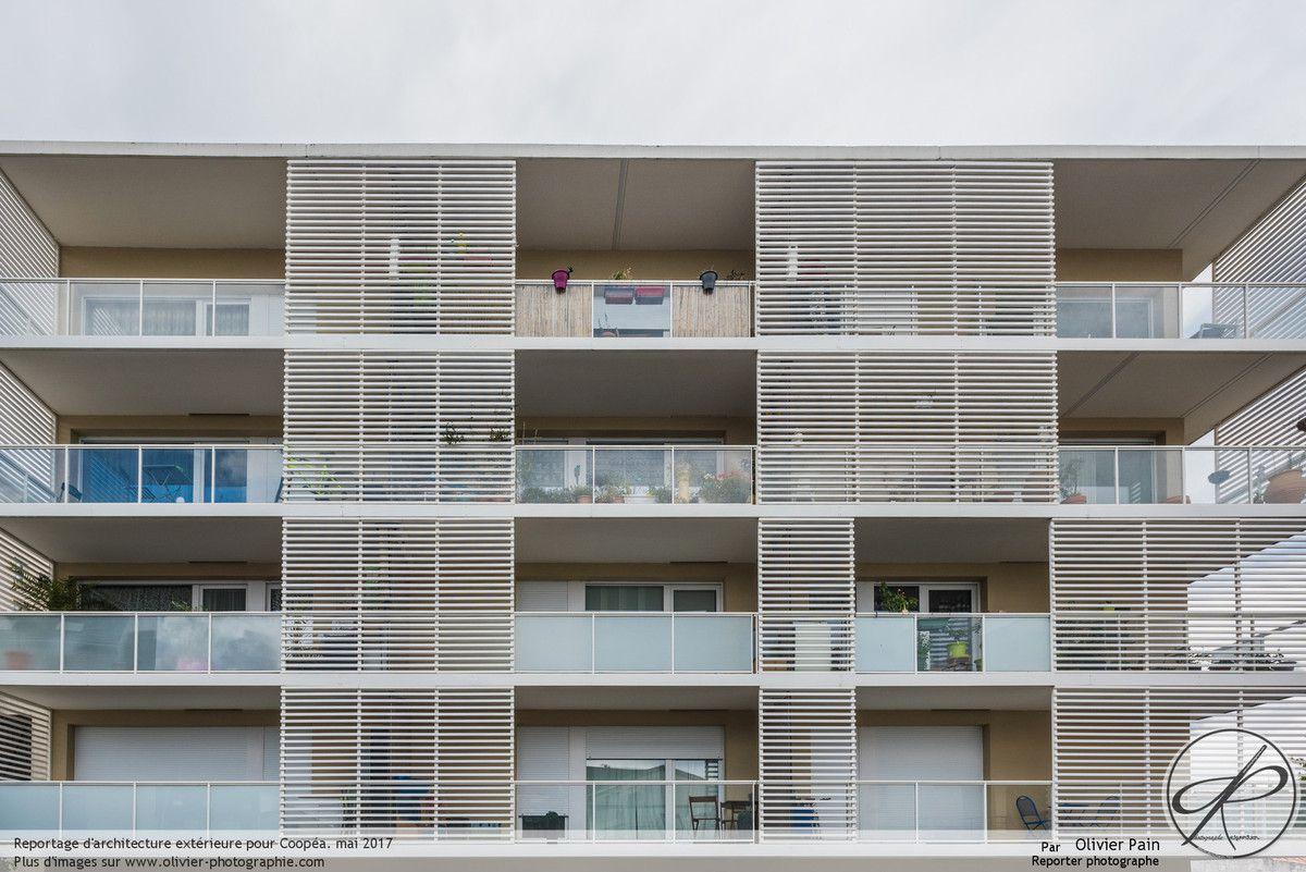 Reportage d'architecture à Tours pour le groupe Coopéa.