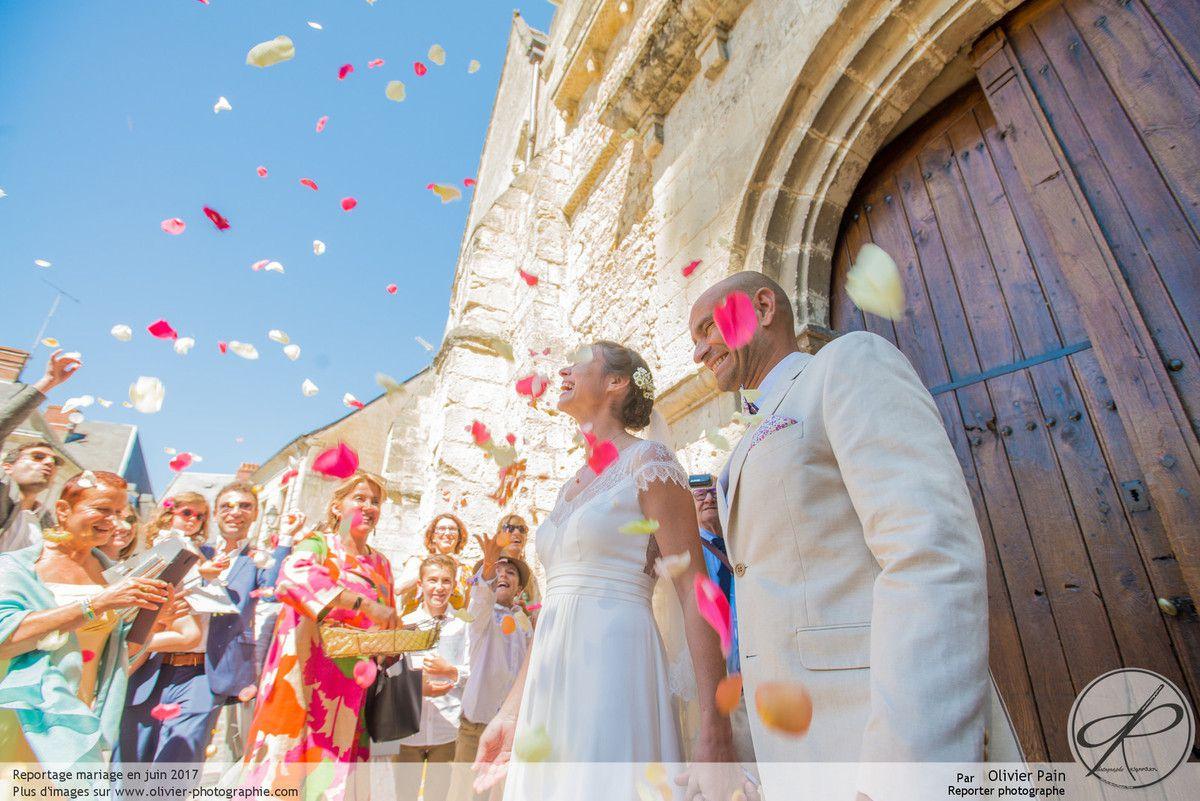 Reportage lors d'un superbe mariage près de Tours.