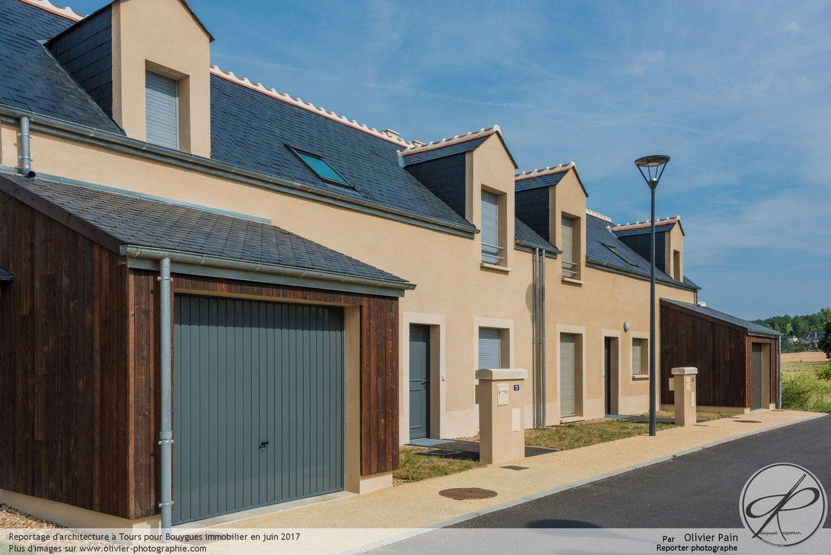 Reportage photo d'architecture pour Bouygues Immobilier à Chinon