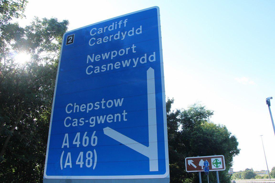 En route pour le Pays de Galles !