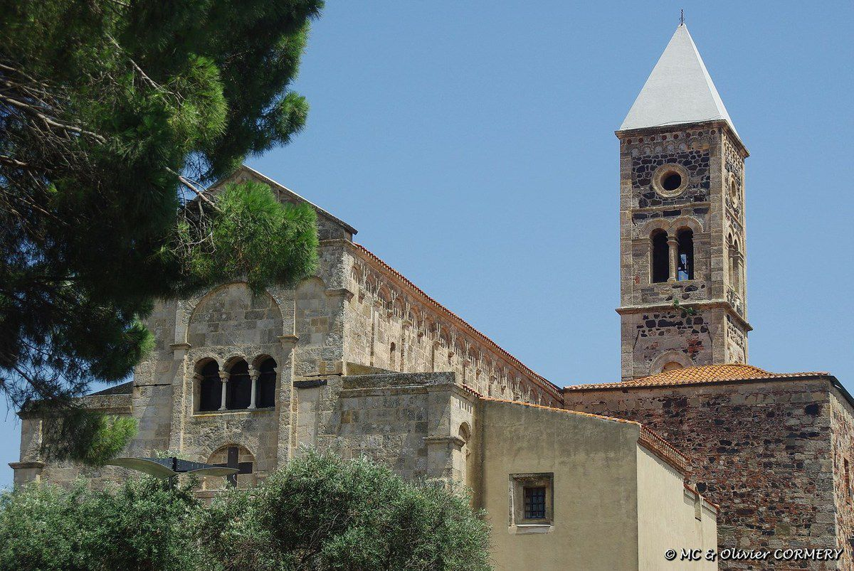 Oristano et ses alentours, Coucher de Soleil à Santa Caterina...