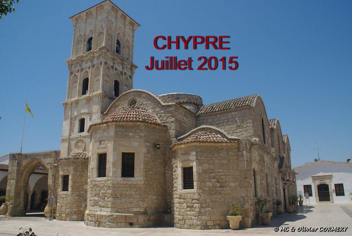 Séjour à Chypre du 12 au 26 juillet 2015