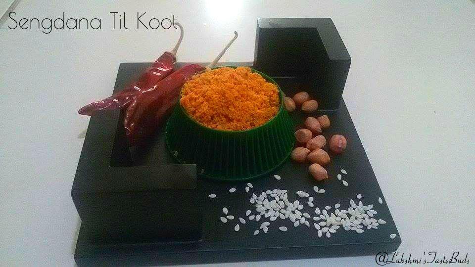 SENGDANA TIL KOOT (Peanut and Sesame seeds Powder)