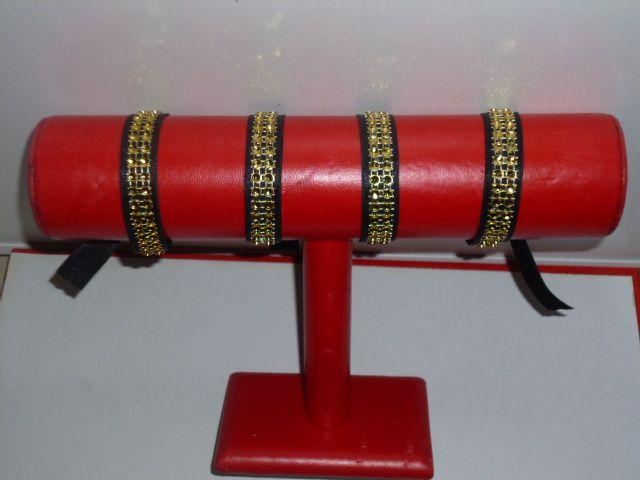 Nouveautés bracelets satins strass....