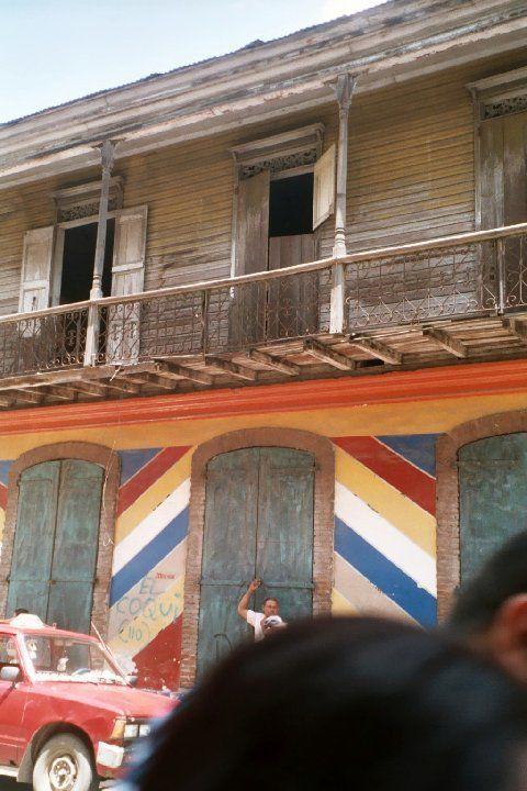 Vieilles maisons de Santiago