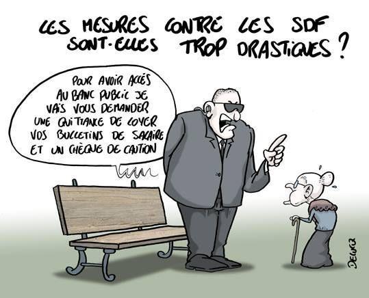 Angoulême Et Ailleurs Chasser Ces Sdf Que Je Ne Saurai Voir
