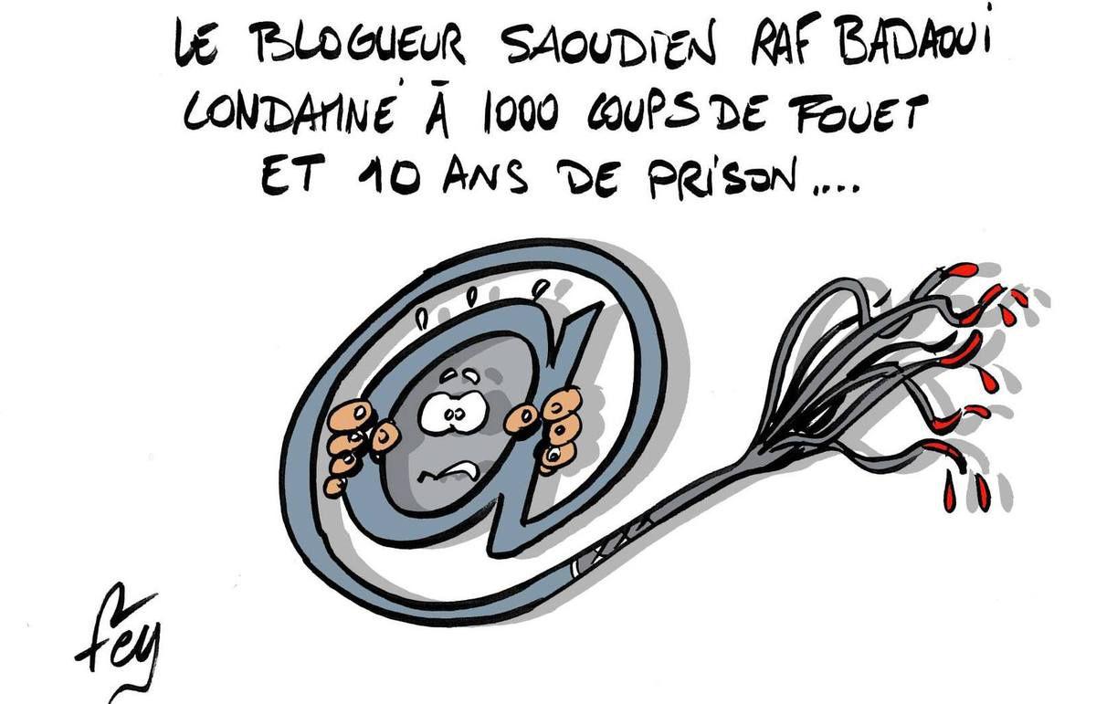 Grande inquiétude autour de Raif Badawi