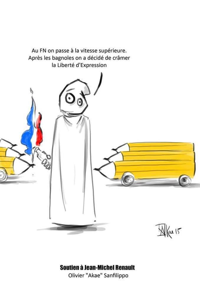 Soutien à JM Renaud et François Corteggiani