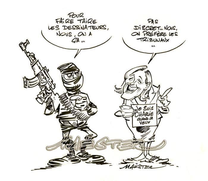 Les caricaturistes du  15 au 21 juin