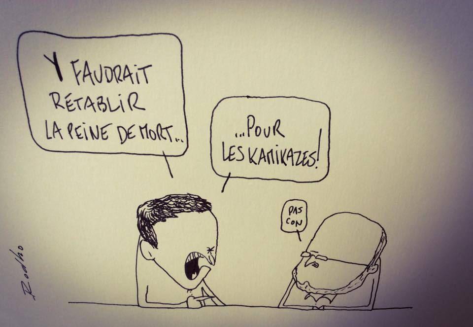 Les caricaturistes du 13 au 19 juillet