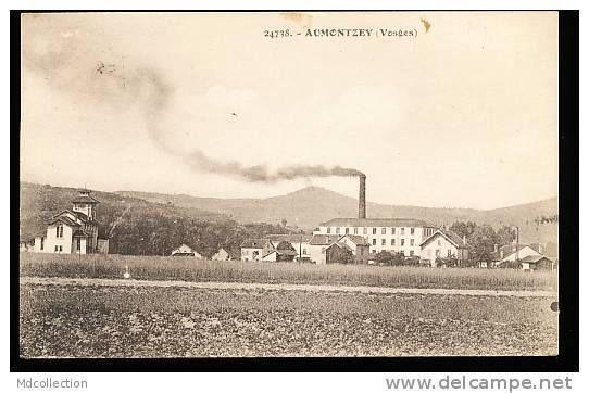 Aumontzey et son église