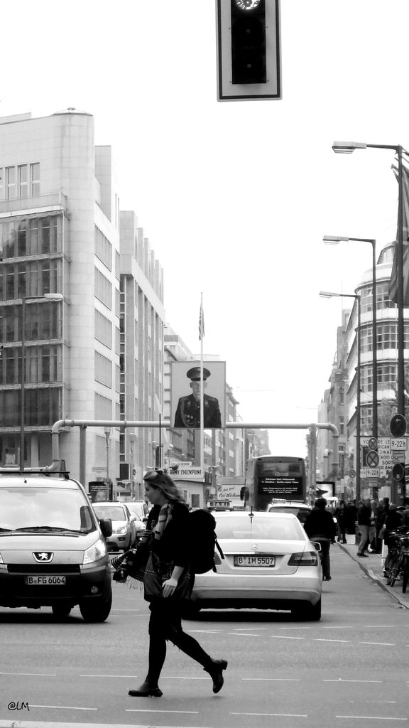 Checkpoint Charlie- Berlin
