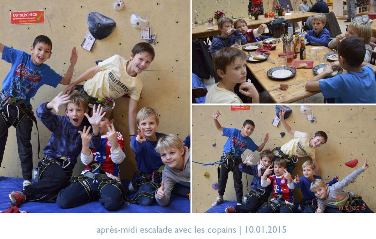 niels: anniversaire avec ses amis