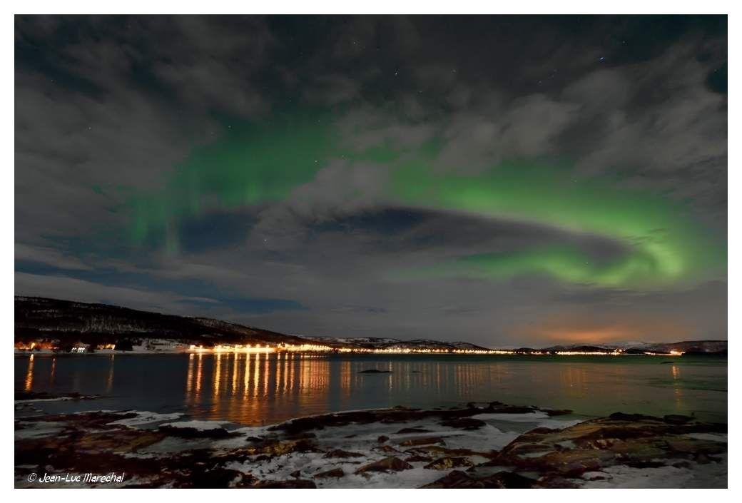 Anneau auroral : Ouest Norvège