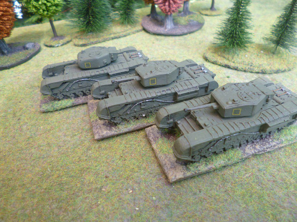 Churchill platoon 5 (non Battlefront)