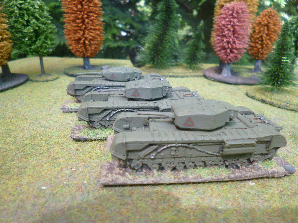 Churchill platoon 3 (non Battlefront)
