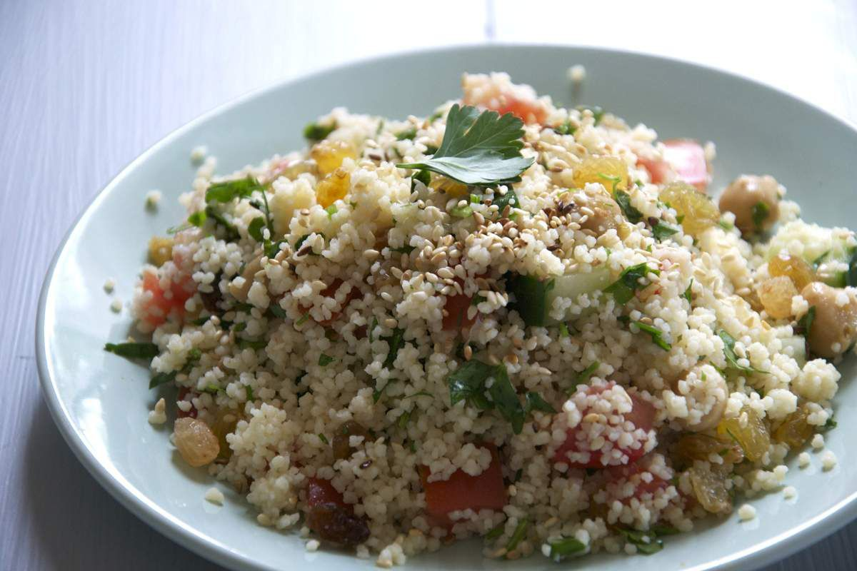 Salade de couscous printanière