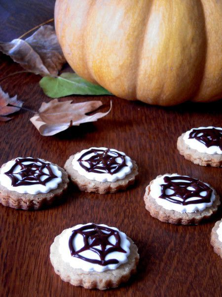 � Halloween, biscuits à la citrouille �