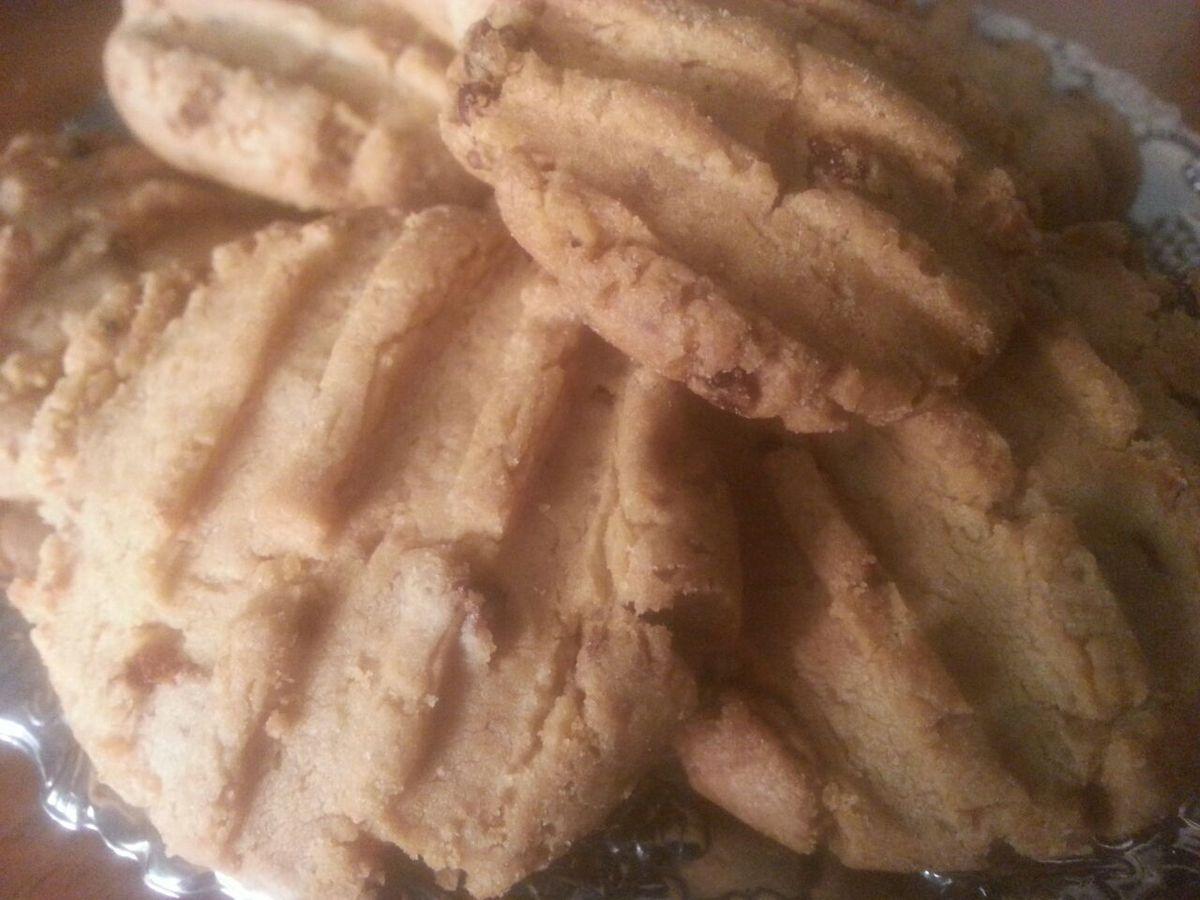 Biscuit au beurre de cacahouète