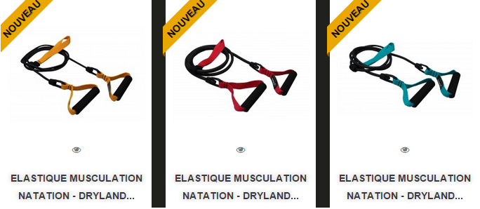 Finis - Elastique musculation natation - Dryland Cords