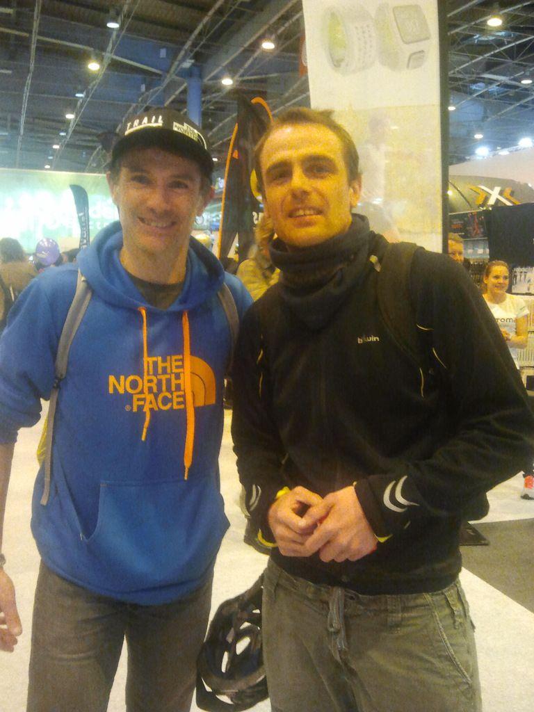 Sébastien Chaigneau Salon du running à Paris
