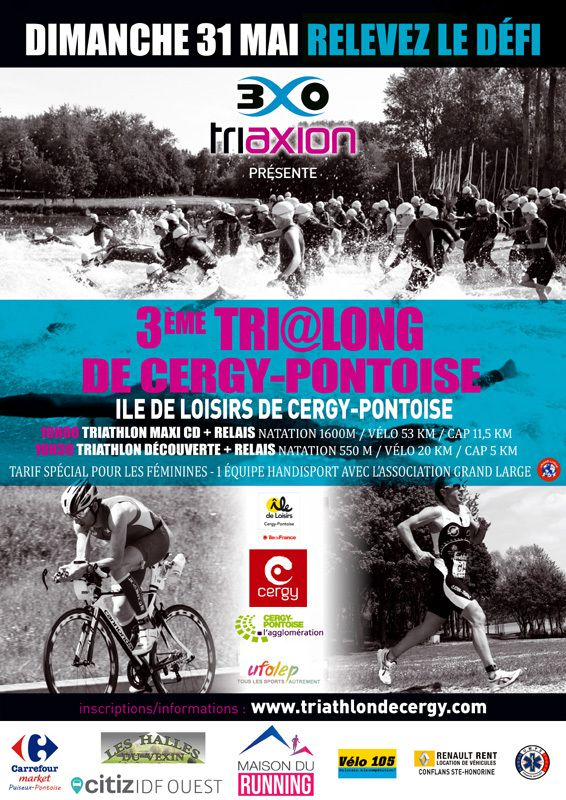 Triathlon de Cergy