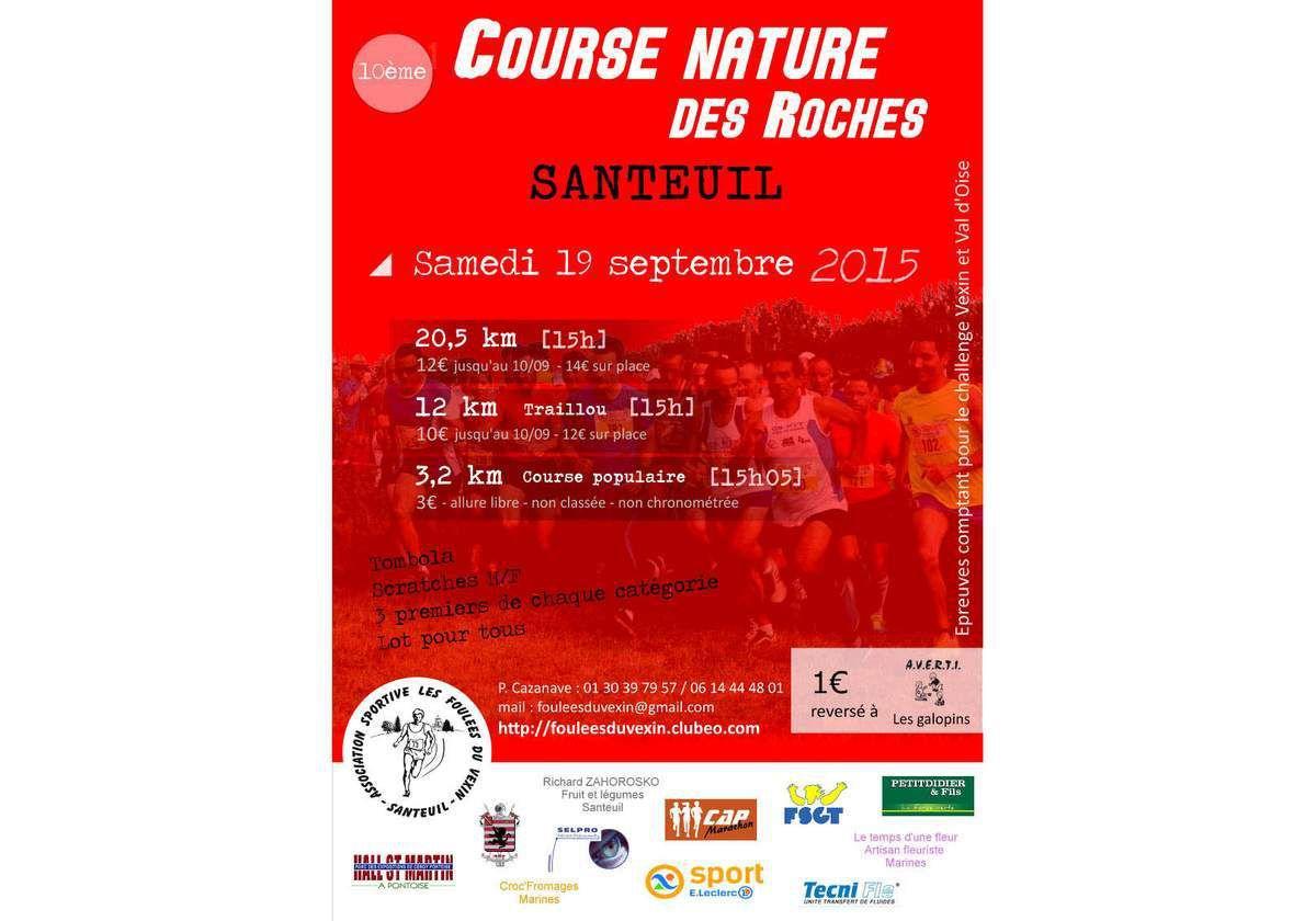 Course nature des roches ! Santeuil