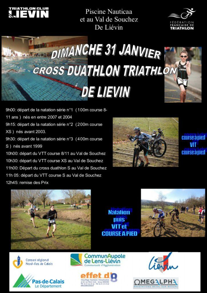 Cross Duathlon de Liévin