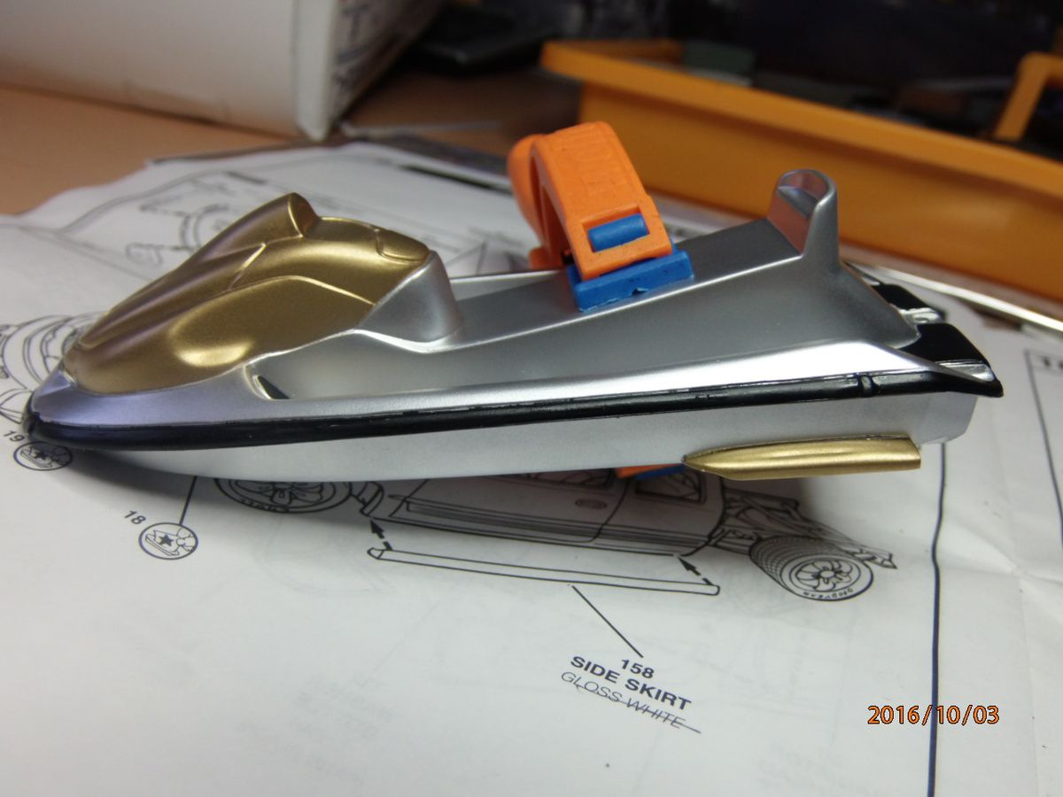 Custom Silverado and Wawerider boat     3/...