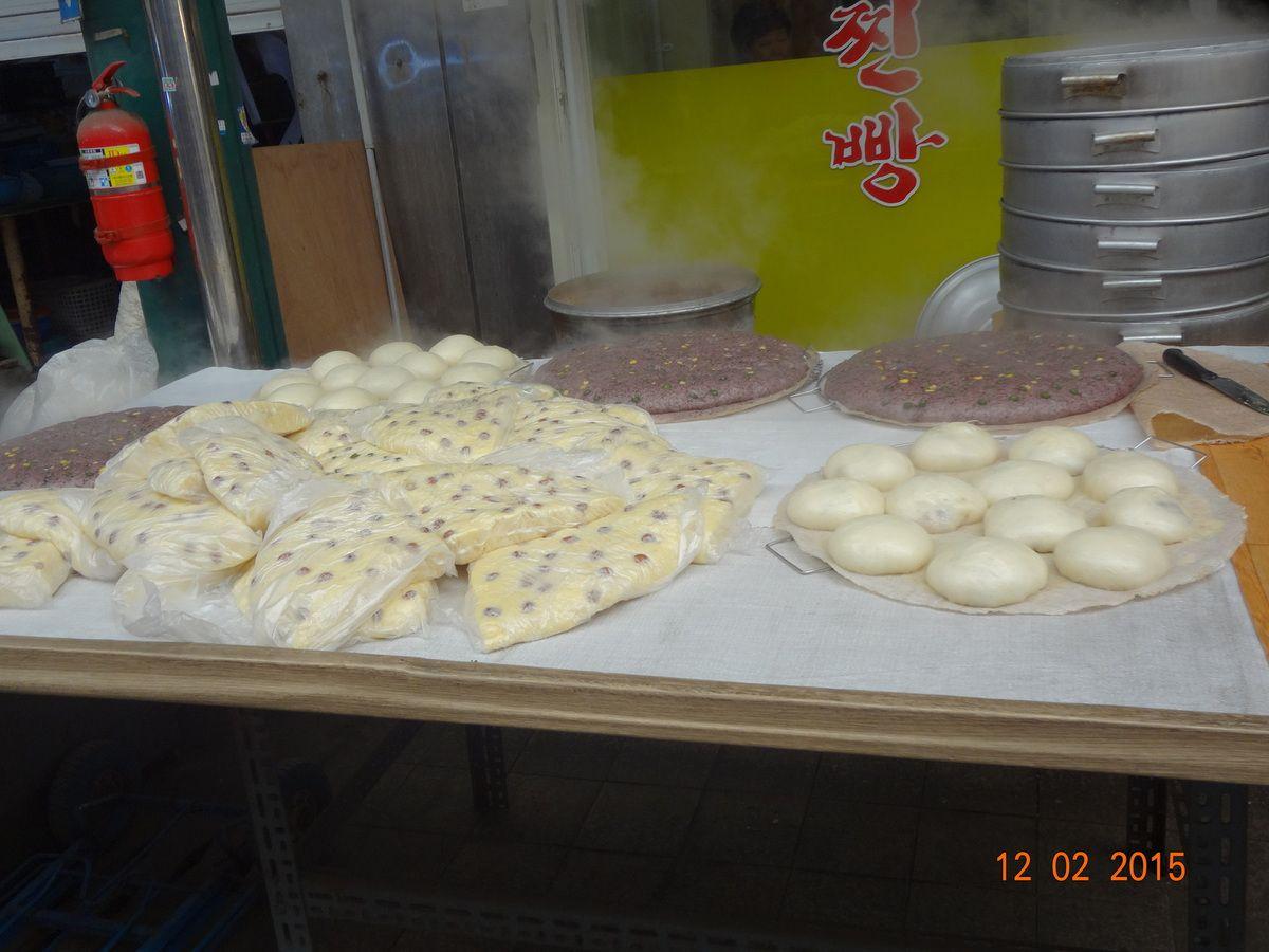 Le pain coréen...