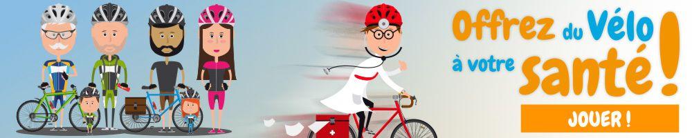 Le vélo c'est la santé...