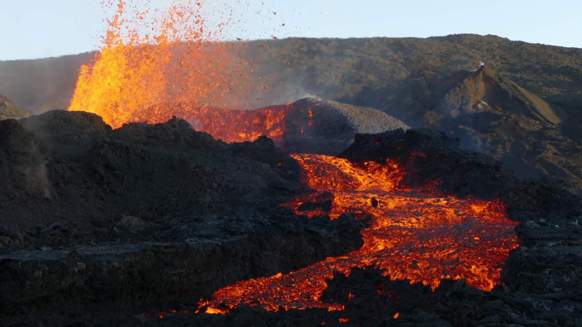 Les photos de l'éruption de La Fournaise (La Réunion) sept 2016