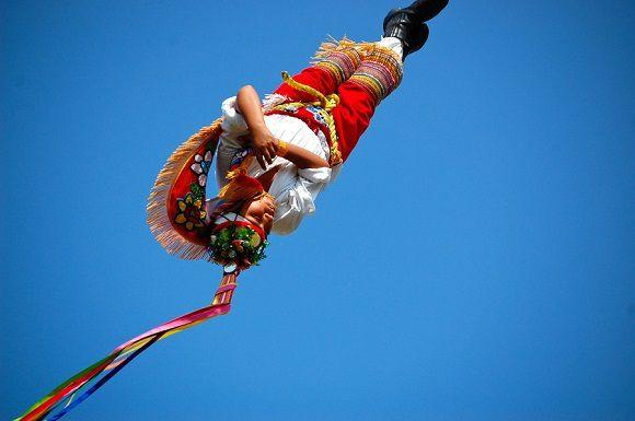 Un volador dans les airs