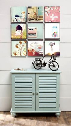 Decoración con fotos