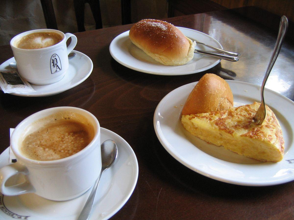 Desayunos típicos españoles / Spanish breakfast