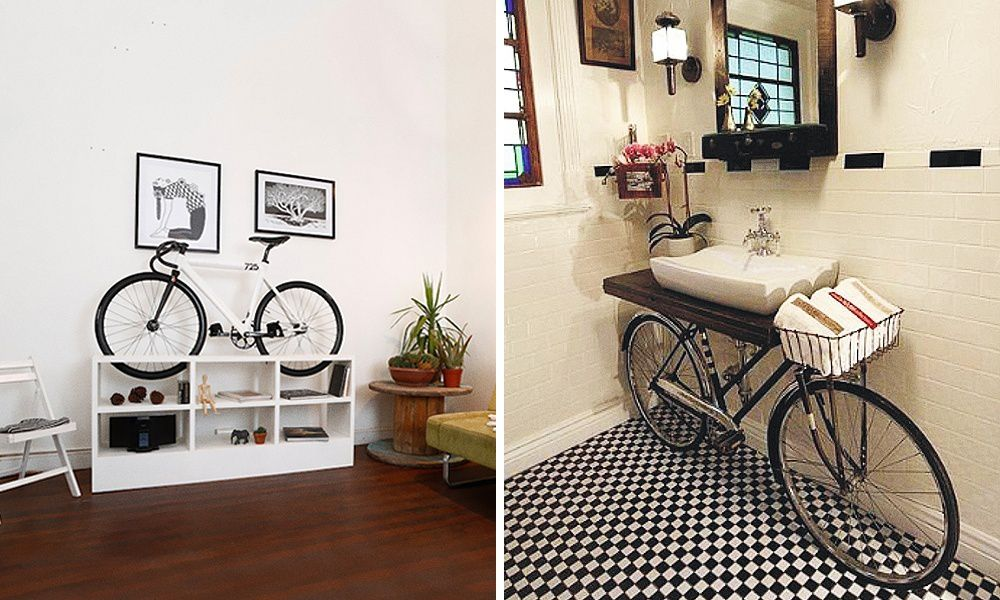 Decorar con bicicletas ¿te animas?