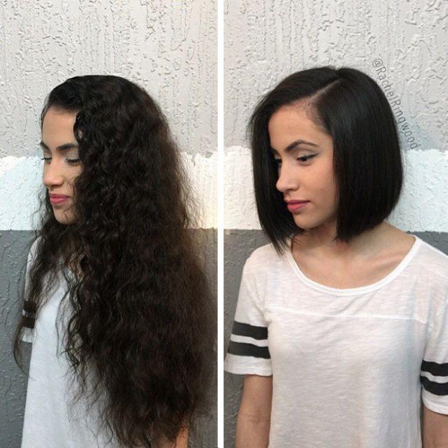 De pelo largo a pelo corto ¡Impresionantes!