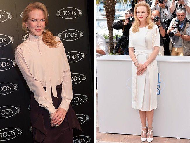 Las mejores reglas de un look de Nicole Kidman