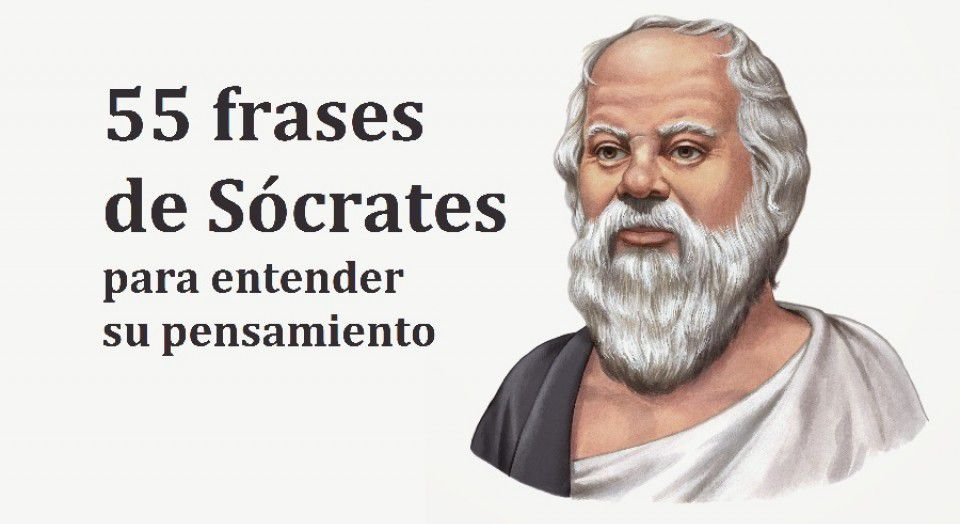 55 frases de Sócrates para entender su pensamiento