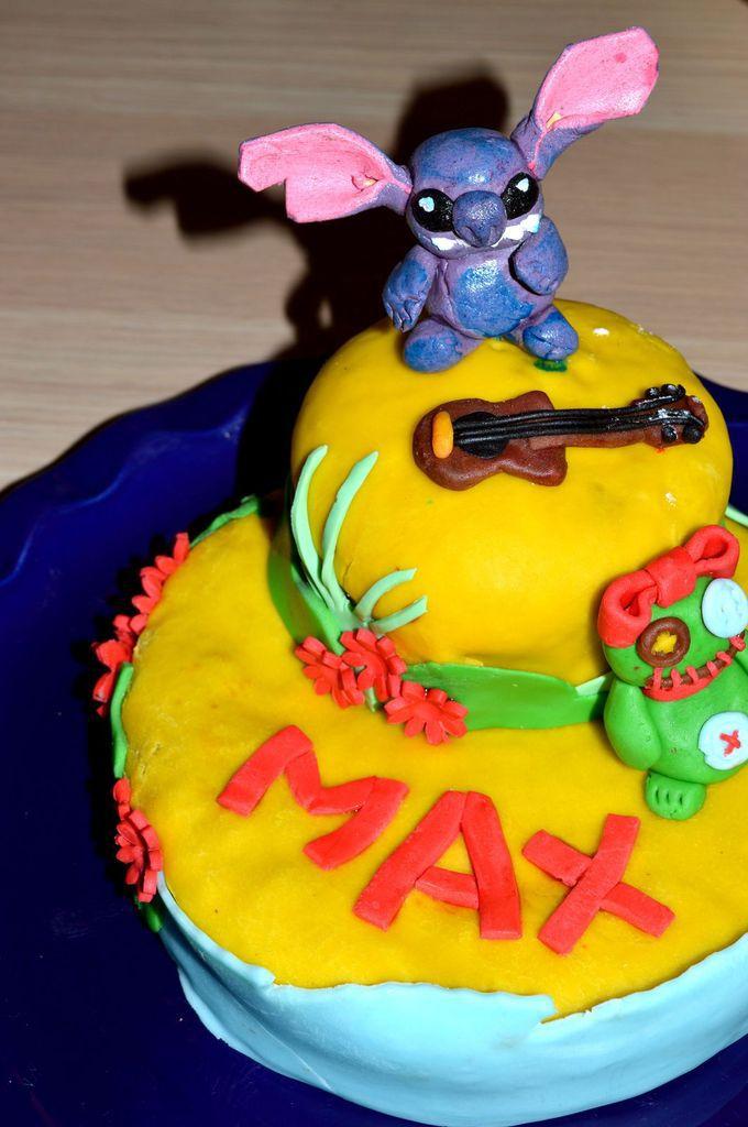 Gâteau Stitch et concours Mygoodwine