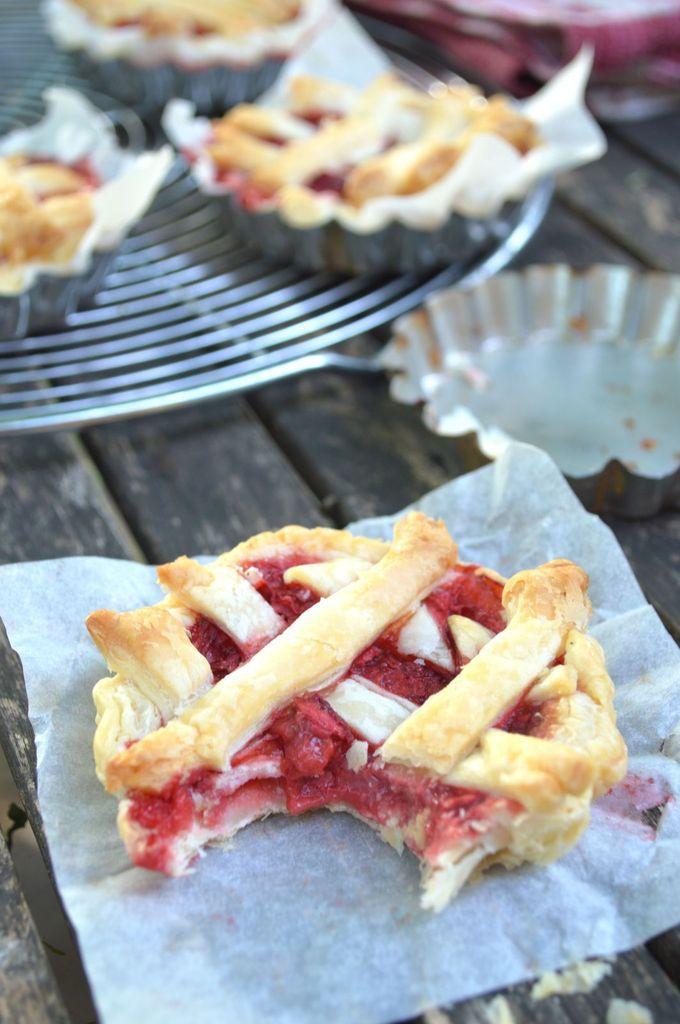 Mini pie aux fraises