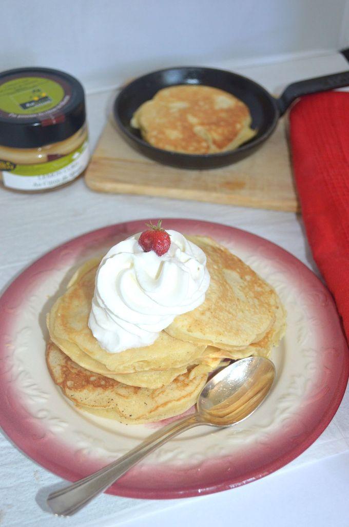 Pancakes au lemon curd