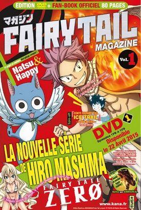 Le Fairy Tail magazine dès le 22 avril chez Kana