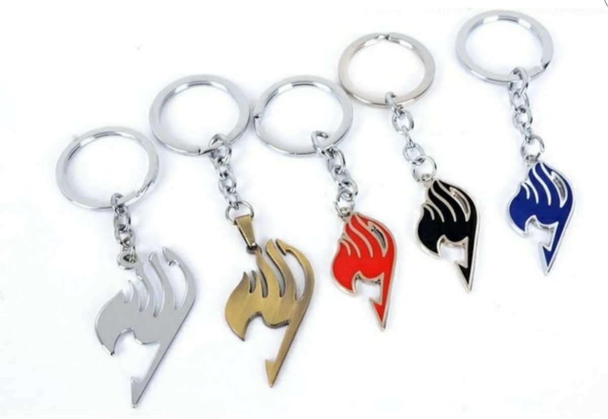 Porte-clés Fairy Tail argenté/bronze/rouge/noir/bleu 3€ + 2€ (frais d'envoi)